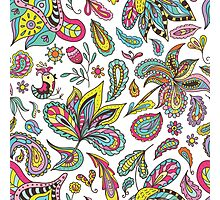 Summer Indian Pattern Photographic Print