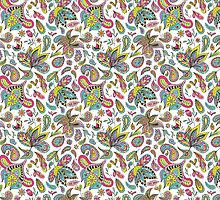 Summer Indian Pattern by kisikoida