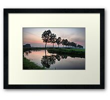 Quiet Evening Framed Print