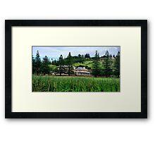 Norfolk Island  Framed Print