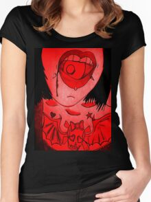 Rawr! 1 Women's Fitted Scoop T-Shirt