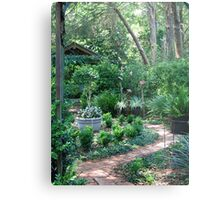 On the way to the Secret Garden       Metal Print