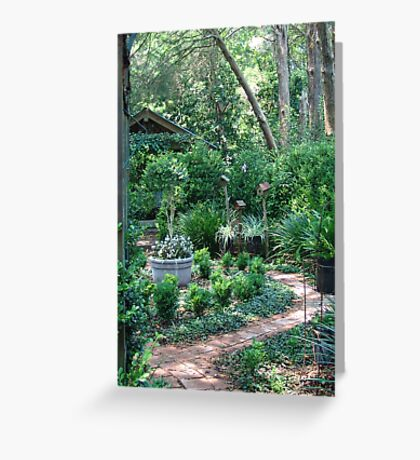 On the way to the Secret Garden       Greeting Card