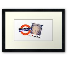 There's no place like London! Framed Print