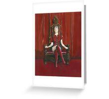 Empress Akasha Greeting Card
