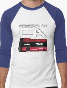 Powered by CA  Men's Baseball ¾ T-Shirt