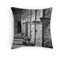 Crumbling Columns Throw Pillow