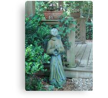 Angels dwell in the garden... Metal Print