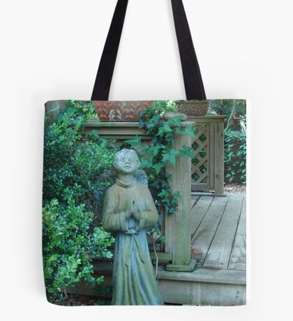 Angels dwell in the garden... Tote Bag