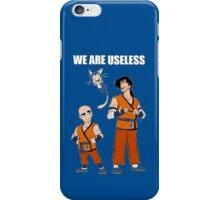 Krillin & Yamcha are useless iPhone Case/Skin