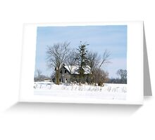 A Red-tailed Hawk's Home Greeting Card