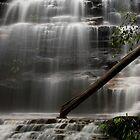 Junction Falls, Blue Mountains National Park, Australia by David Mapletoft