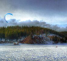 The Kite Boarder by Wayne King