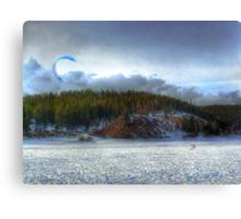 The Kite Boarder Canvas Print