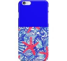Lilly Pulitzer- Starfish iPhone Case/Skin