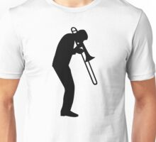 Trombone player Unisex T-Shirt