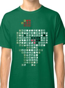 Fez Happy Gomez Tiles Classic T-Shirt