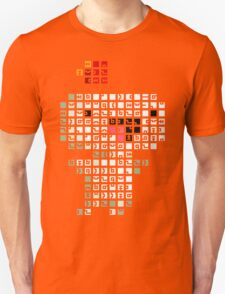 Fez Happy Gomez Tiles Unisex T-Shirt