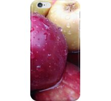 Water Drops On Bunch Of Apples iPhone Case/Skin