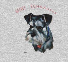 Mini Schnauzer by jimmie