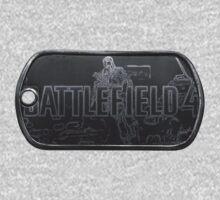 Battlefield 4 Dogtag by PollaDorada