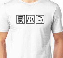 Trucker icons Unisex T-Shirt