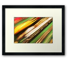 Speeding Bullet Framed Print