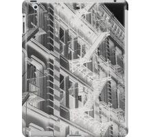 Abstract New York apartments iPad Case/Skin