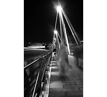 Hungerford / Golden Jubilee Bridge Photographic Print