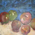 Roadside Apples by Redviolin