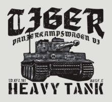 Tiger I by deathdagger