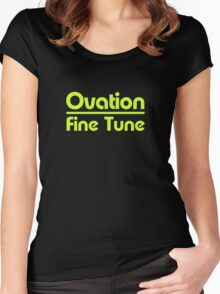 Ovation Fine Tune Guitars Women's Fitted Scoop T-Shirt