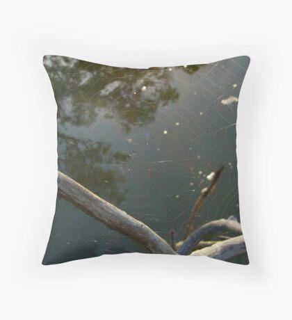 Web Throw Pillow