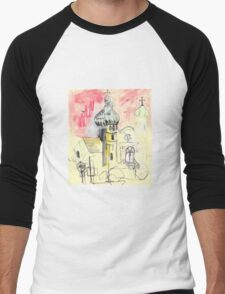 Urban Sketch Men's Baseball ¾ T-Shirt
