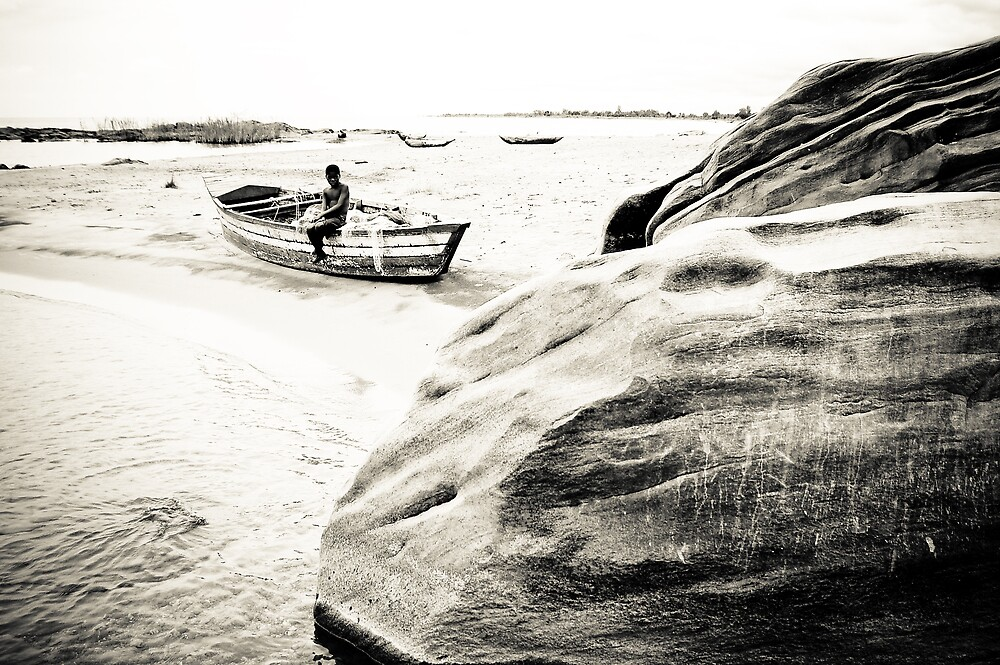 Passing the Time, Lake Malawi by Tim Cowley