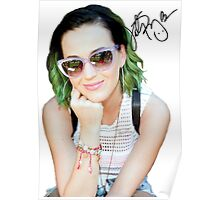Katy Perry Signature Poster