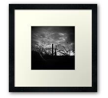 Sunsets in B&W Framed Print
