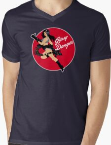 Gipsy D. Pinup girl Mens V-Neck T-Shirt