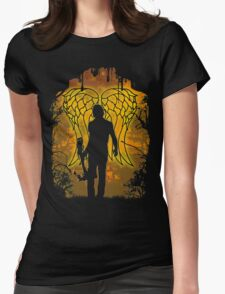 Winged Archer. (VARIANT) Womens Fitted T-Shirt