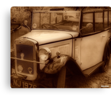 Those Were The Days............ Canvas Print