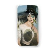 Portrait 11 with Hat Samsung Galaxy Case/Skin