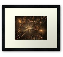 Once Upon A Faded Memory Framed Print