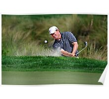Justin Leonard - Hits Out of a Bunker Poster