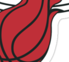 miami heat Sticker