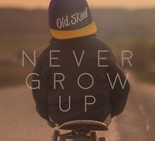 Never Grow Up by fuchur