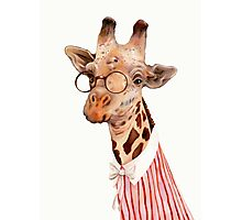 Lady Giraffe Photographic Print