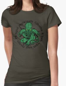 Call fo Cthulhu Womens Fitted T-Shirt