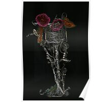Wire goblet Poster