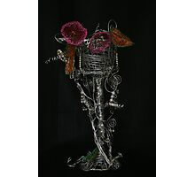 Wire goblet Photographic Print