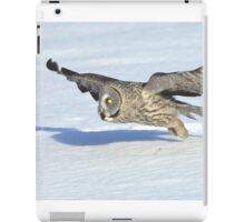 Great Grey Hunting Sequence 2 iPad Case/Skin